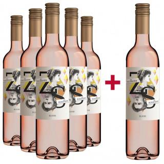"""5+1 Paket Rosé """"Blush"""" - Weingut Zuschmann-Schöfmann"""
