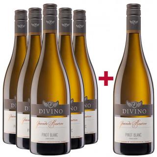 5+1 Paket 2017 Grande Réserve Pinot Blanc trocken