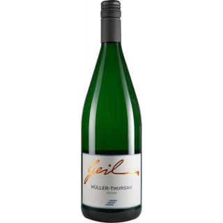 2020 Müller-Thurgau trocken 1,0 L - Weingut Helmut Geil
