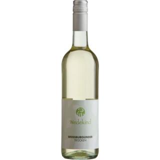 2019 Niersteiner Weißburgunder Kabinett trocken Wein aus Umstellung auf den ökologischen Weinbau - Weingut Wedekind