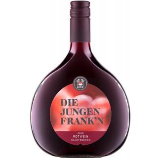 2018 Die Jungen Franken Rotwein QbA halbtrocken - Winzergemeinschaft Franken