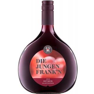 2019 Die Jungen Franken Rotwein (GWF) halbtrocken - Winzergemeinschaft Franken eG