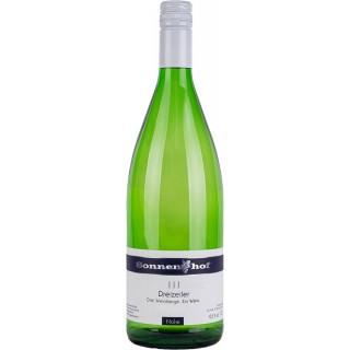Dreizeiler feinfruchtig lieblich 1,0 L - Weingut Sonnenhof Langenlonsheim