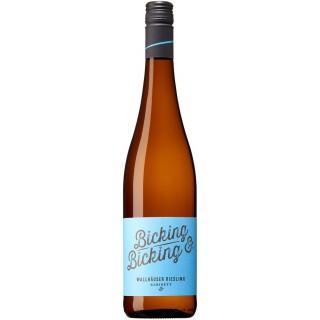 2017 Wallhäuser Riesling Kabinett feinherb - Weingut Bicking und Bicking
