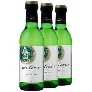 3x 2019 Riesling 0,25 L - Weinkonvent Dürrenzimmern eG