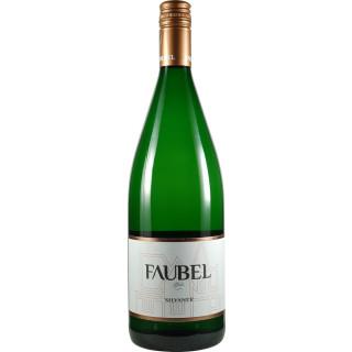 2020 Silvaner trocken 1,0 L - Weingut Faubel