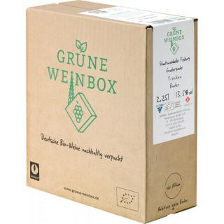 2018 Grauburgunder trocken 2,25 L GRÜNE WEINBOX Weinschlauch BIO - Staatsweingut Freiburg