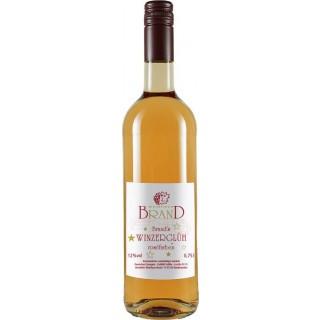 Brand's Winzerglüh´ roséfarben edelsüß - Weingut Brand