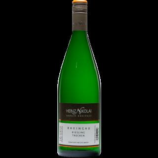 2018 Erbacher Michelmark Riesling trocken 1L ** - Weingut Heinz Nikolai