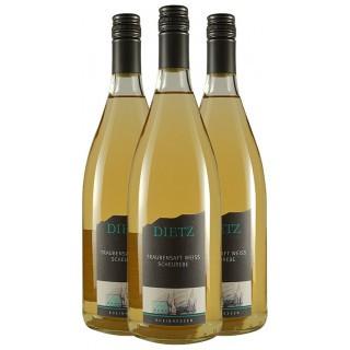 Traubensaft weiß VON DER SCHEUREBE 1,0 L - Weingut Tom & Bernd Dietz