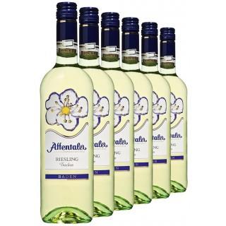 "2019 ""Blütenedition"" Riesling QbA trocken (6 Flaschen) - Affentaler Winzer"