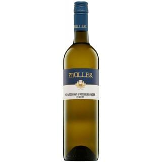2019 Chardonnay & Weißburgunder feinherb - Weingut Axel Müller