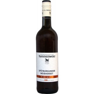 2018 Spätburgunder Weißherbst Kabinett - Winzergenossenschaft Rammersweier