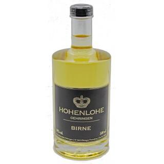 """Birne """"Spirituose mit Fruchtauszug 0,5L"""" 0,5 L - Weingut Fürst Hohenlohe-Oehringen"""