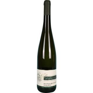 2018 Brauneberger Juffer Sonnenuhr Riesling Spätlese edelsüß - Weingut Kranz-Junk