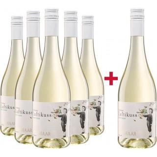 5+1 Paket Secco Weiß Luftikuss - Weingut Weishaar