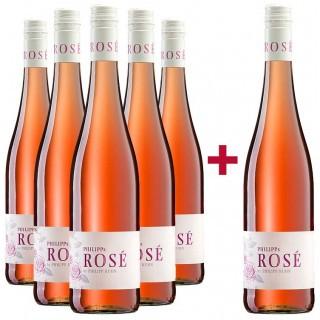 5+1 Paket Philipp´s Rosé - Weingut Philipp Kuhn