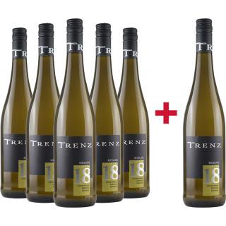 5+1 Johannisberger Riesling Kabinett feinherb Paket - Weingut Trenz