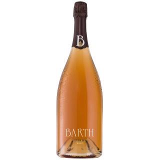 Magnum Pinot Rosé Sekt Brut 1,5L im schwarzen Geschenkkarton - Barth Wein- und Sektgut