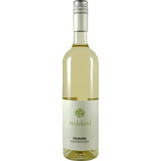 2018 Niersteiner Silvaner halbtrocken BIO - Weingut Wedekind