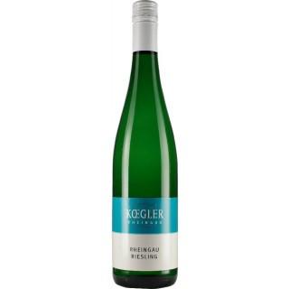 2018 KOEGLER Rheingau Riesling QbA halbtrocken - Weingut Koegler