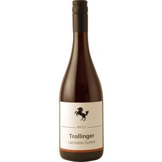 2018 Cannstatter Zuckerle Trollinger halbtrocken - Weingut der Stadt Stuttgart