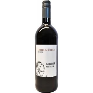 2018 Trollinger QbA halbtrocken 1L - Weingut Dohlmühle