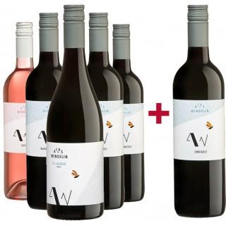 5+1 Rotwein Entdeckerpaket  - Achs-Wendelin Weine