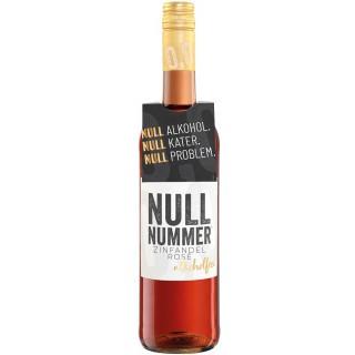 NULLNUMMER alkoholfreier Zinfandel Rose - Weinkellerei Einig-Zenzen