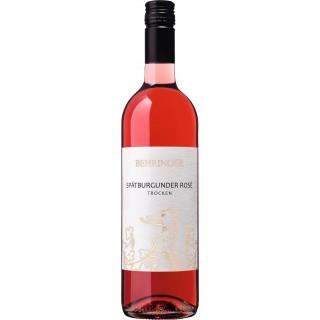 2019 Spätburgunder Rosé QbA trocken 375ml - Behringer