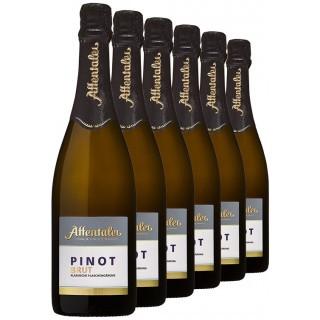 2017 Pinot Sekt b.A brut (6 Flaschen) - Affentaler Winzer