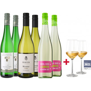 2018 Halbtrockener Weißwein Probierpaket