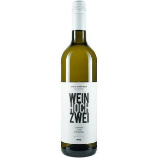 2019 WeinhochZwei Weißweincuveé trocken - Weingut Eißele
