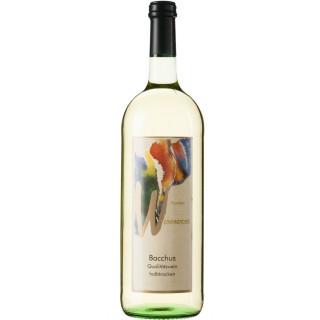 2018 Weinparadies Bacchus QbA halbtrocken 1L - Winzerkeller Iphofen