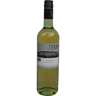 2017 Schützinger Heiligenberg Gewürztraminer trocken BIO - Weingut Häge
