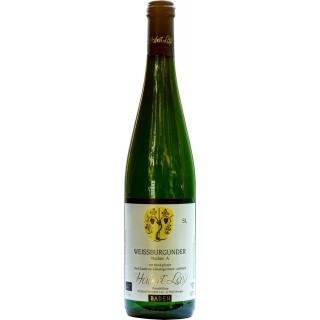 2018 Weißburgunder S Naturwein schwefelfrei unfiltriert, naturtrüb trocken BIO - Ökologisches Weingut Hubert Lay
