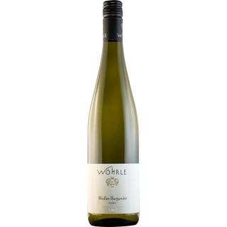 2018 Weißer Burgunder Spätlese SCHLOSSBERG trocken BIO - Weingut Wöhrle