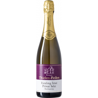 2016 Riesling brut PRIVAT-SEKT klassische Flaschengärung - Weingut Thielen-Feilen