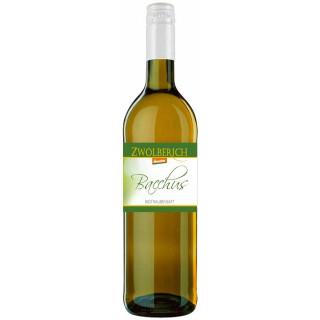 2018 Bacchus Traubensaft Weiß 0,735L BIO - Weingut im Zwölberich