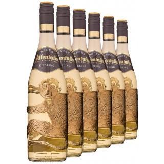 2019 Affenflasche Riesling QbA (6 Flaschen) - Affentaler Winzer