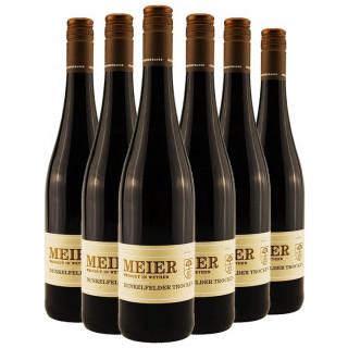 Dunkelrot und kraftvoll - Dunkelfelder Paket - Weingut Meier