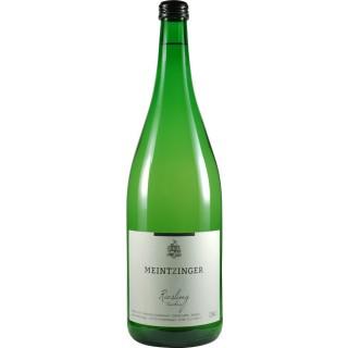 2018 Riesling trocken 1,0 L - Weingut Meintzinger