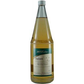 """Traubensaft """"Weiß"""" 1,0 L - Weingut Wilhelm"""