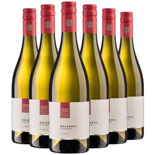 6 Flaschen Silvaner Goldbühl VDP. Gutswein-Paket