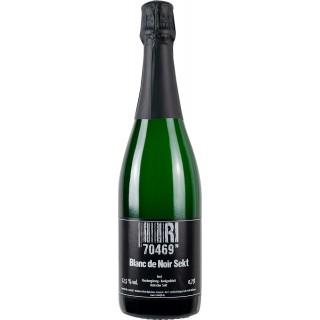 2018 Blanc de Noirs Deutscher Sekt, traditionelle Flaschengärung, handgerüttelt brut - Weingut 70469R!