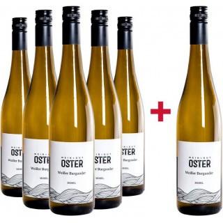 5+1 Paket Weißer Burgunder - Weingut Oster