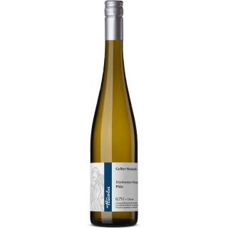 2020 Gelber Muskateller halbtrocken - Weingut Heissler