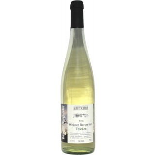 2017 Weißer Burgunder QbA Trocken - Weingut Albert Schwaab