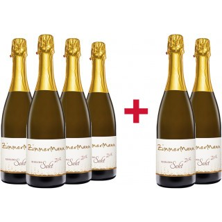 Sichern Sie sich das 4+2 Sekt-Paket vom Weingut Alois Zimmermann