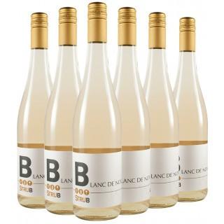 6 Flaschen Strub Kalkstein Blanc de Noir-Paket